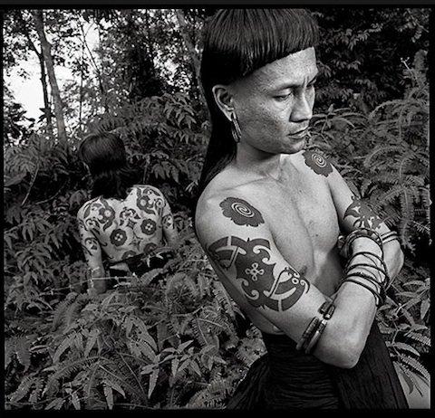 Bornean-tattoo