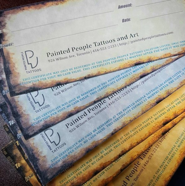 Gift-Certificates