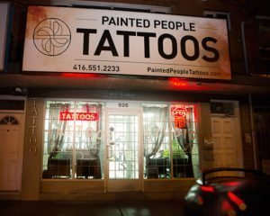 PAINTED PEOPLE TATTOO COMPANY – TORONTO