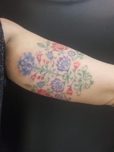 Hand-Poke Tattoo